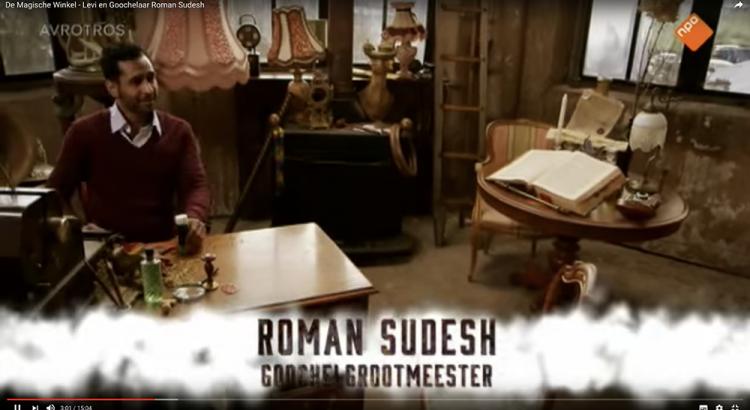 Roman Sudesh - De magische-winkel